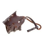 360 Leather Training Muzzle