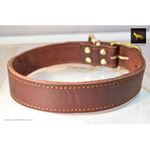 Rusty Red Oak Leather Collar 2