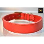 Horizon Red Leather Collar 2