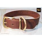 Rusty Red Oak Leather Collar
