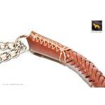 Roman II Braid Martingale Leather Collar 4