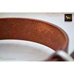 Mahogany Leather Collar 4