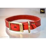 Tiny Diamonds Leather Collar 2