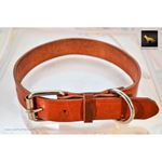 Saddle Tan Leather Collar