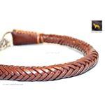 Roman II Braid Martingale Leather Collar 2