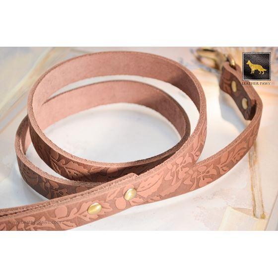 Autumn Leather Leash 4