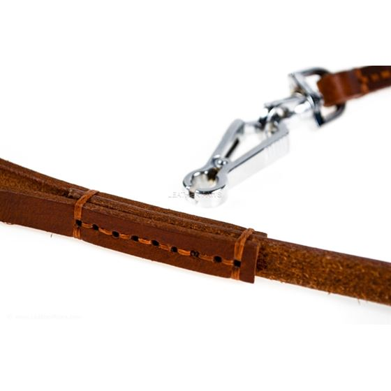Quick Release Leather Leash