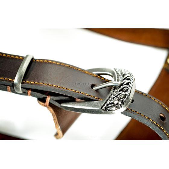 Red Oak Medium Harness buckle