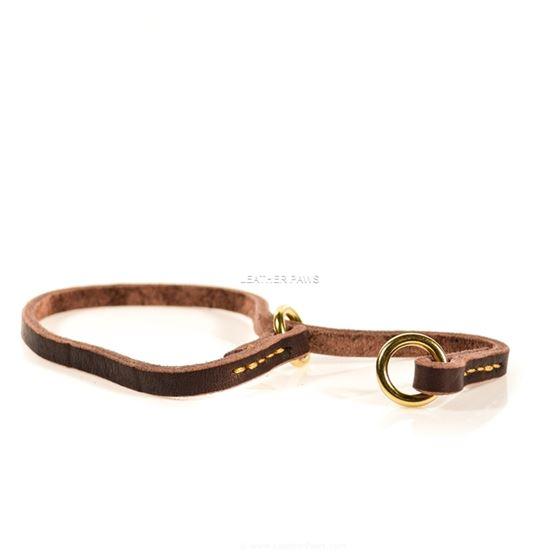 Butter Slip Leather Dog Collar 1
