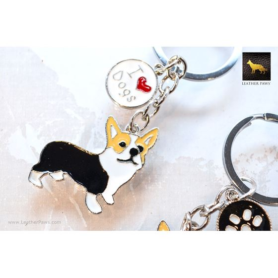 Corgi Key Chain 2