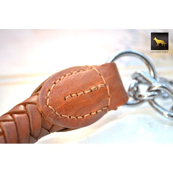 Roman Braid Leather Collar 4