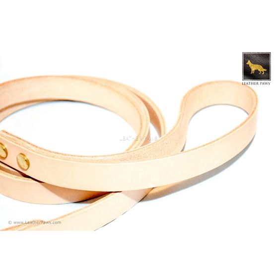 Sand Beige Leather Leash (Limited Edition)3
