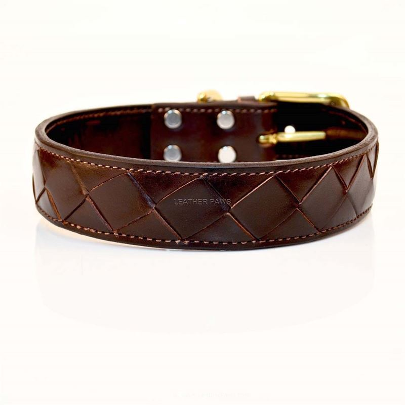 LPNY Crisscross Leather Collar 2