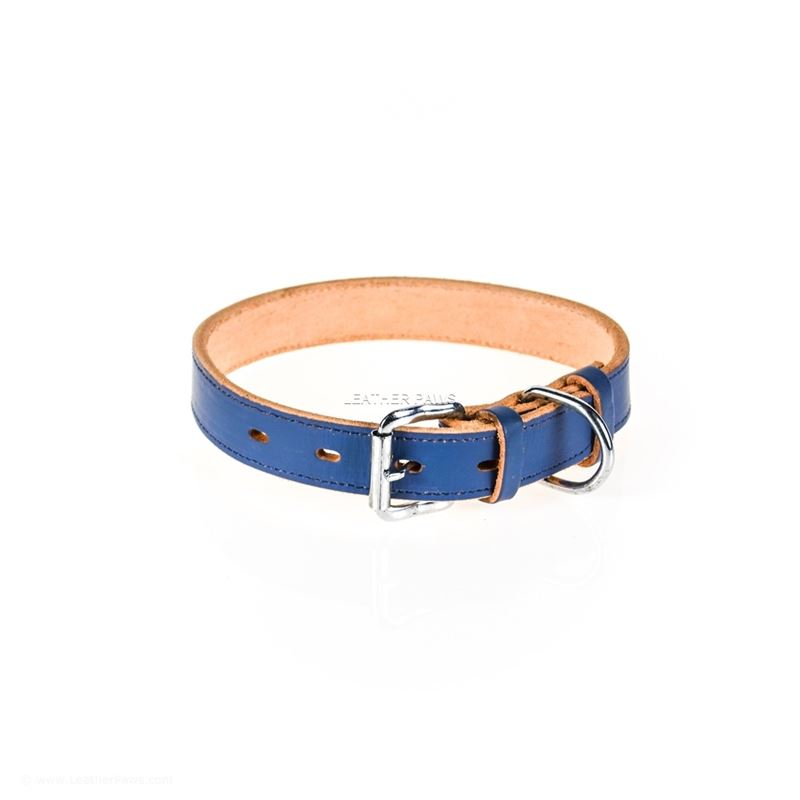 Ocean Dog Leather Collar Front