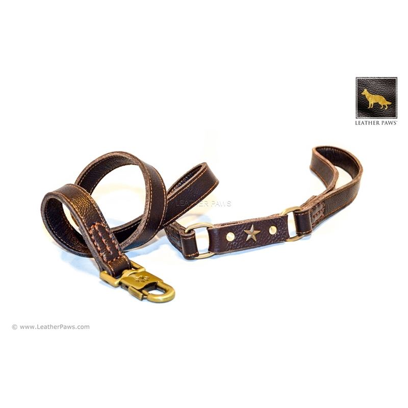 Military Leather Leash