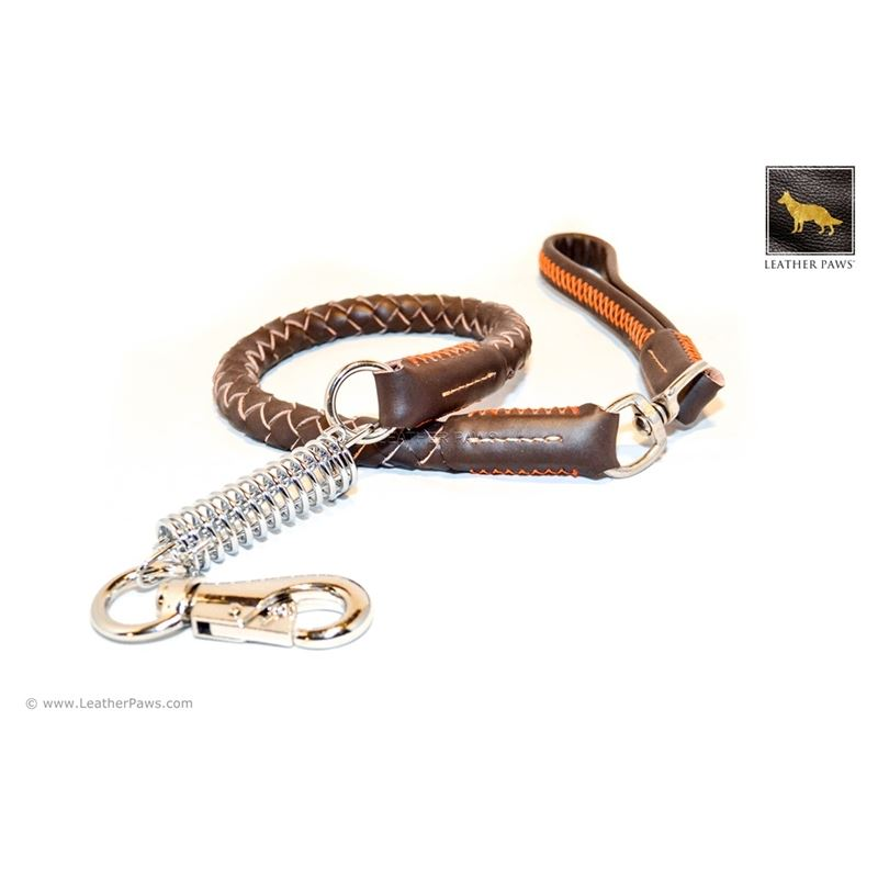 Freedom Braided Leather Leash