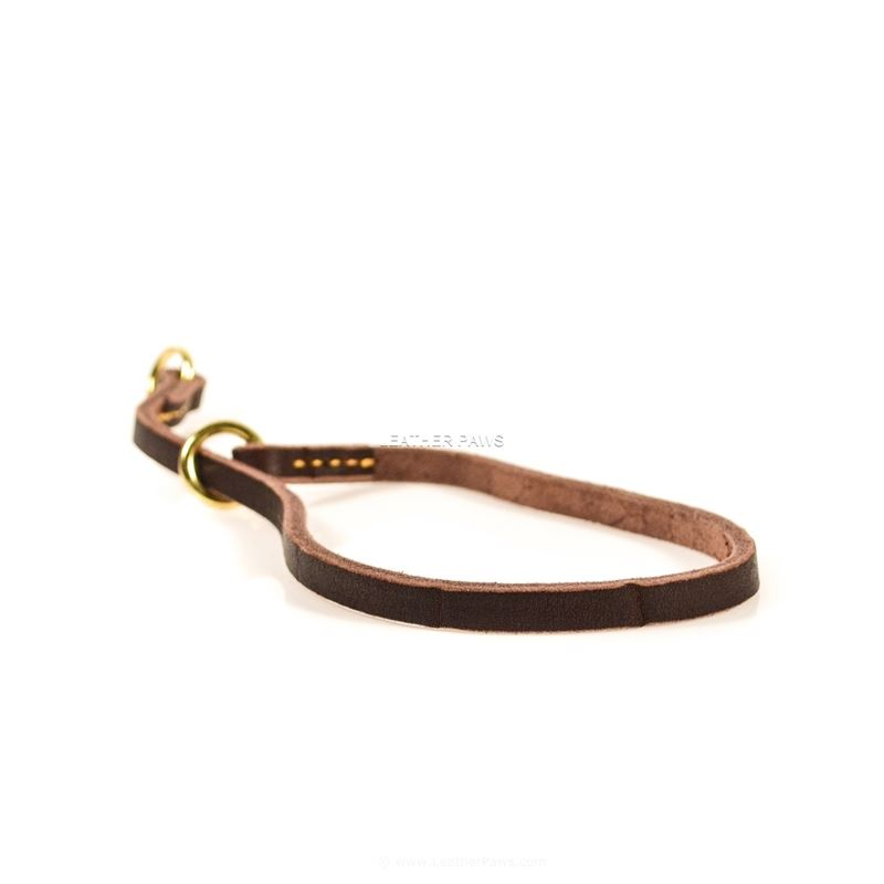 Butter Slip Leather Collar