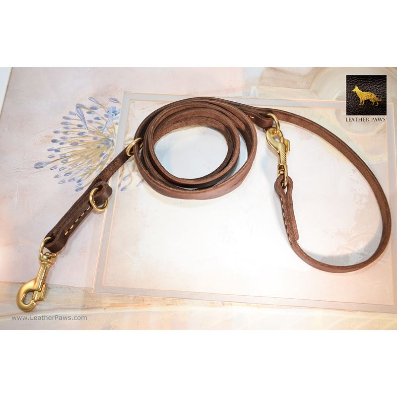 Productive Leather Leash