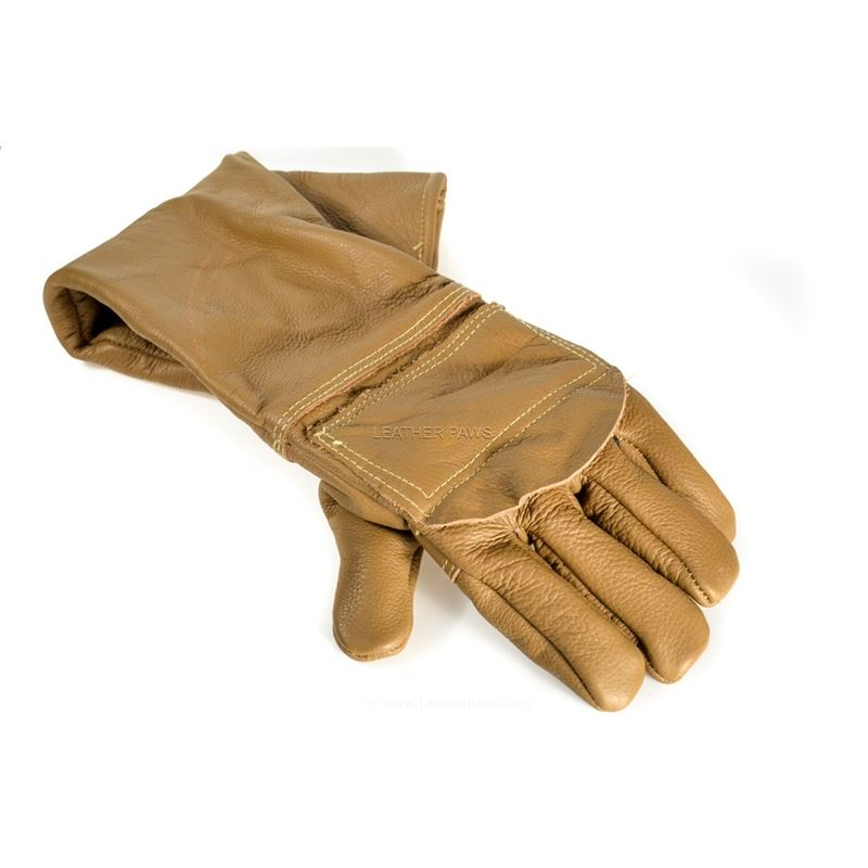 Leather Anti-Bite Glove Sleeve